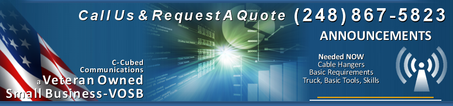Request A Quote, C-Cubed Communications