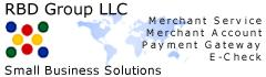 RBD Group LLC Merchant Services, Merchant Accounts, Payment Gateways and Electronic Check Services