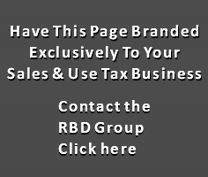 Sales & Use Tax Consultants